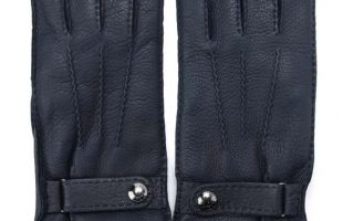 MAZZOLENI-394-BLU レザー手袋