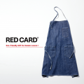 RED CARD デニムエプロン ノベルティ